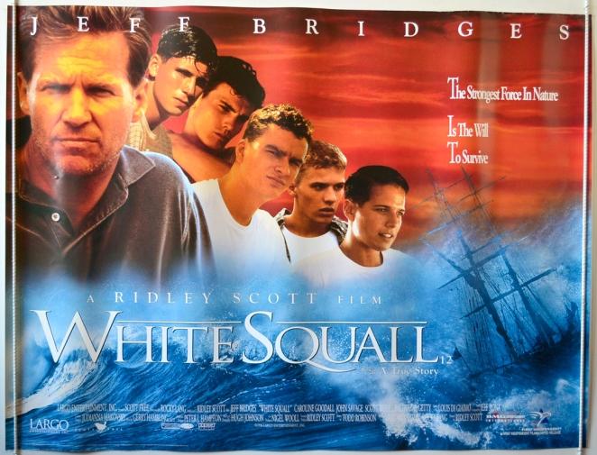white squall: titolo italiano l'albatross oltre la tempesta